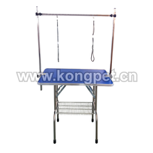 """Hot sale height adjustable pet grooming table/dog grooming foldable table with """"H"""" arm PG058"""