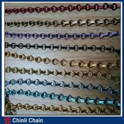 weldless link chain,double loop chain,single jack chain
