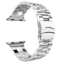 For Apple Watch Strap Stainless Steel Mental Replacement Strap Wrist Brand Classic Polishing For Apple iWatch
