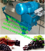 fruit squeezing machine/fiber fruit vegetable presser juicer/industrial grape crush juicer