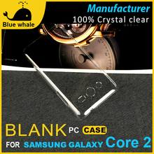 For Clear Samsung Galaxy Core Case, Pc Hard Case For Samsung Galaxy Core, Mobile Protective Cases For Samsung Galaxy Core I8260