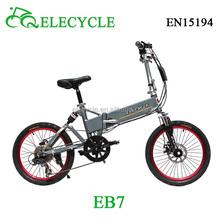 ELECYCLE folding Electric Bike samsung battery/electric pocket bike