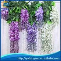 Best Selling High-end artificial wisteria for wedding decoration/artificial wisteria flowers for christmas decoration/home decor