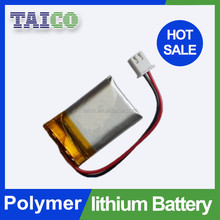 Smallest 3.7v 100mah Rechargeable Li-ion Polymer battery