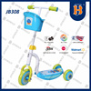 Newest Three Wheel Scooters China With Plastic Deck Indoor Sports JB308 EN71 CE Approved