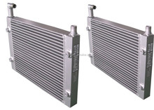 aluminum radiator for air compressor air cooler atlas copco spare parts