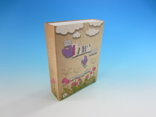 Fashion design paper drawer box for gift packaging