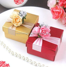 Super quality cheapest popular laser rose paper box for candy