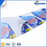 Double-sided adhesive label, label self adhesive double sticker