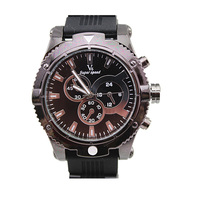 V6 brand silicone band US army watches for men