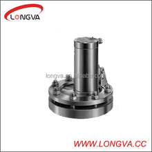sanitary stainless steel flange sight glass with lamp