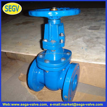 Hot selling DIN 3352 DIN Rising Stem Gate Valve with low price