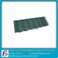 Chinese Fames Stone Coated Metal Roof Tile Factory