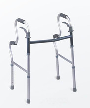 Foldable Aluminum Adjustable Walker Two -button Blind Cane Good Quality walking aid