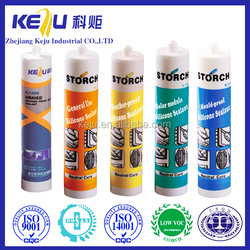 Silicone sealant for mirror, waterproof sealant for plastic
