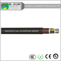 China shield, flexible ,advanced technology Long life , mix material COLD RESISTANT CABLE