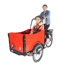 ce approved holland popular family electric 3 wheel bicycle rickshaw cargo tricycle for sale