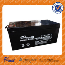 made in China high capacity hot sale cheap price vrla sealed acid storage rechargeable deep cycle 12v 350ah solar batteries