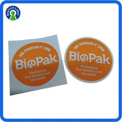 Uv resistant private printing self adhesive die cut stickers, custom stickers die cut