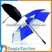 Double Layer Windproof Golf Umbrella/Promotion Golf Umbrella/Gift Golf Umbrella