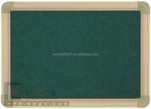 Hot Sale School Student Classrom Decorative Green Board & Black Cork Board