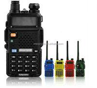 BAOFENG Vesion Walkie Talkie UV 5R Dual Band VHF UHF 65-108MHZ 5W Handheld two-way radio