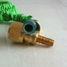 Accessories for car wash brass fitting Magic garden hose soft latex expandable hose