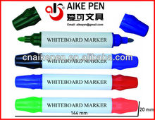 two tips dry erase jumbo white board marker/a piece of two color