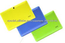 7 pulgada antena wifi para tablet android AllWinner A13