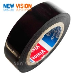 Factory sale strong adhesion same quality as tesa black PVC insulation tape