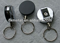heavy duty retractable reel key ID badge belt clip chain pull sold individually