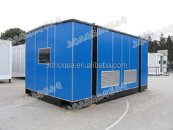 2015 Hot Sale modular luxury prefab container house price for sale