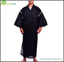 Printed men cotton kimono style pajamas, men japanese style robe, boy' Pajamas,sleepwear,nightwear,nightgown GVXF0006