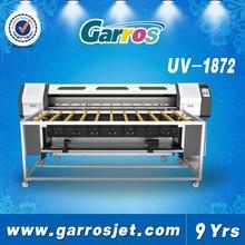 2015 latest 1.8m UV LED printer,Roller&Flatbed Garros R180E Model