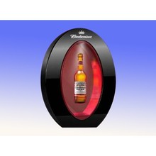 2015 hot sale acrylic material magnetic floating advertising display