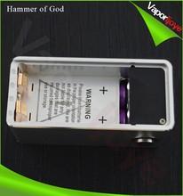 Wholesale ecigs box mod electronic cigarette clone Hammer of god mod