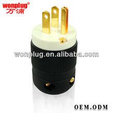 2013 hot sale good quality nema 3.5mm audio plug with UL approval