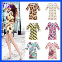 Wholesale Fashion Women's Individuality 3D Printed dresses