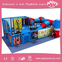 Baby soft used China indoor playground with slide and punching bag for kids paly park AP-IP30055