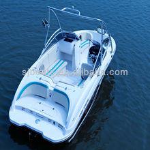 Low price SJF21A High Speed fiberglass cabin cruiser boats
