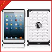 fashion diamond bling rhinestone hard cover tablet case for apple ipad mini4
