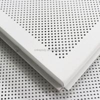 White Aluminum Acoustic Ceiling Tile/ Cheap Ceiling Tile 60x60