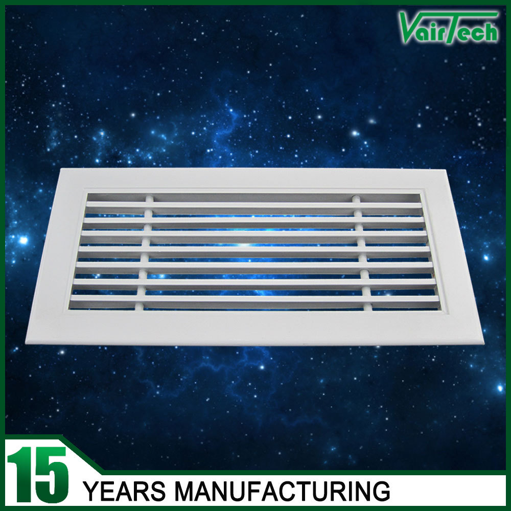 Custom size powder coated air conditioning aluminum linear
