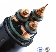 YJV22 26/35kv copper wire conductor xlpe insulated pvc jacket Steel tape armored power cable