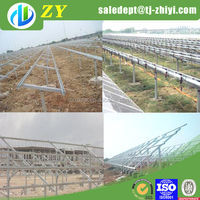 Practical hot dipped galvanized solar panel bracket for 10kw home solar power system
