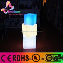 LED outdoor fashion cube/3d color led cube/led light up cube table,dmx led cube table
