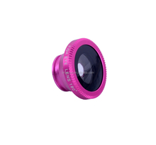 Mobile Phone Lens 3 in 1 Lens 180 Degree Fish Eye lens + 0.67 x Wide Angle + Marco Lens