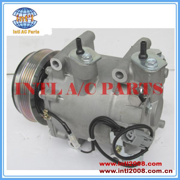 Compressor auto para Honda Jazz/Fit/Cidade TRSE07-3434 Sanden 3426 3431 38800-RB7-Z02 38810-RLC-014 Kompressor compressor de ar condicionado