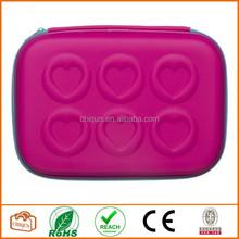 Pink & Blue Heart Hardtop Pencil Case