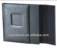 leather cover book AYV 71 slip in or peel & stick album